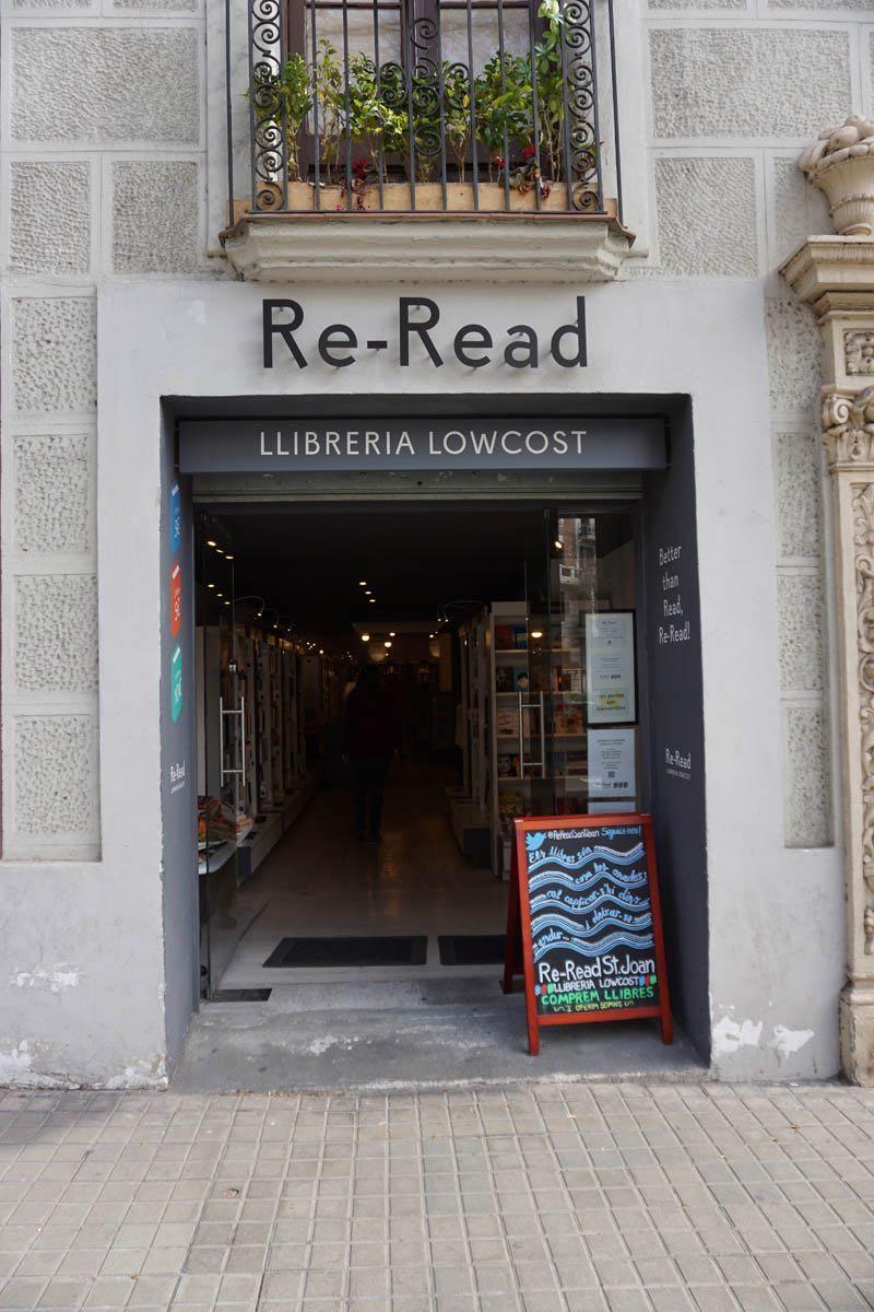 Re-Read Barcelona — Pg Sant Joan, 152
